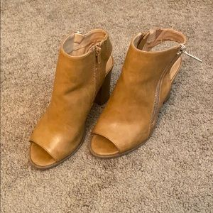 Express open toed booties